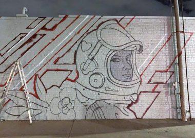 Cassandra Bryan Design Building Mural By Brady Scott Creative Progress3