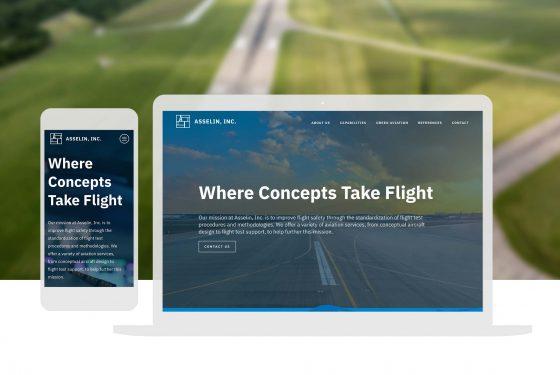 Sustainable Aviation Website Design-Cassandra Bryan Design-3