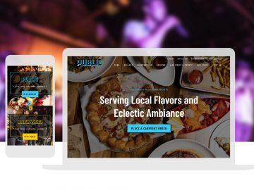 restaurant and event venue website design_Cassandra Bryan Design-3