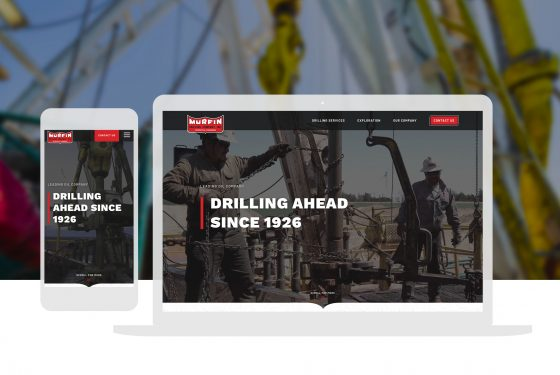 Murfin Drilling Website Design Oil Company Cassandra Bryan Design Wichita Ks