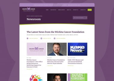 Non Profit Cancer Care Assistance Website 3