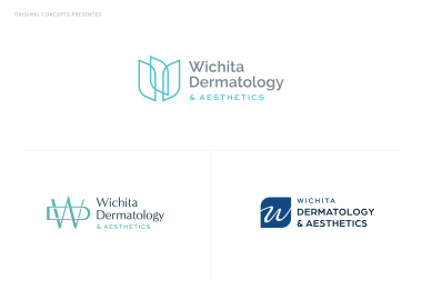 Wichita Dermatology Aesthetics Logo Branding Cassandra Bryan Design